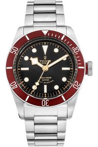 Stainless Steel Heritage Black Bay Automatic