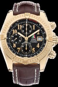 18K Yellow Gold Chronomat Evolution Frecce Tricolori Automatic Limited Edition
