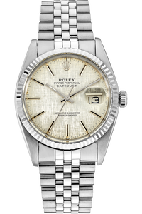 18K White Gold and Stainless Steel Datejust Automatic Circa 1979