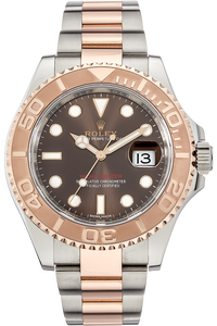18K Rose Gold and Stainless Steel Yachtmaster Automatic