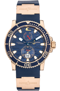 Marine Diver Blue Surf Limited Edition Rose Gold Automatic