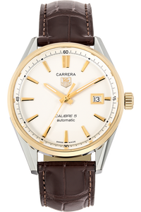 Carrera Calibre 5 Yellow Gold and Stainless Steel Automatic