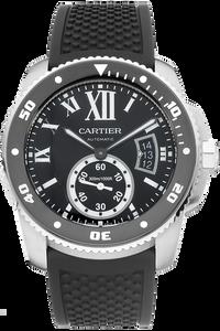Stainless Steel Calibre de Cartier Diver Automatic