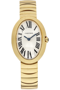 18K Yellow Gold Baignoire Quartz