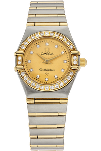 18K Yellow Gold and Stainless Steel Constellation Mini Quartz