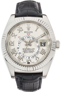 18K White Gold Sky-Dweller Automatic