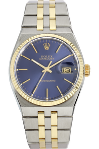 18K Yellow Gold and Stainless Steel Datejust Quartz Circa 1978