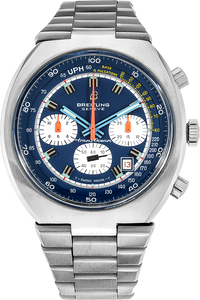 Stainless Steel Transocean Chronograph Manual