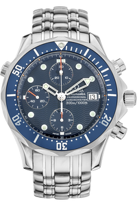 Stainless Steel Seamaster Diver Chronograph Automatic