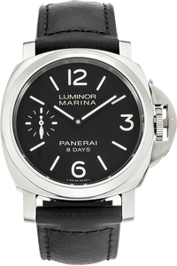 Stainless Steel Luminor Marina 8 Days Manual