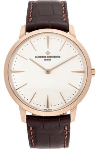 Patrimony Grand Taille Rose Gold Manual