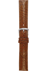 20 mm Tan Alligator Strap