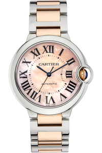 18K Rose Gold and Stainless Steel Ballon Bleu Automatic
