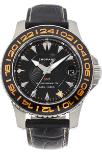 Stainless Steel L.U.C Pro One GMT Automatic