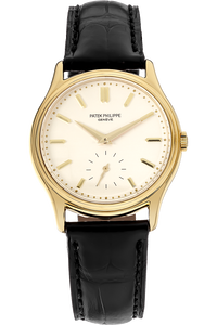 18K Yellow Gold Calatrava Manual Reference 3923