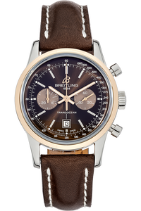 18K Rose Gold and Stainless Steel Transocean Chronograph Automatic