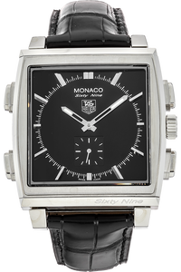 Stainless Steel Monaco Sixty Nine Manual and Quartz