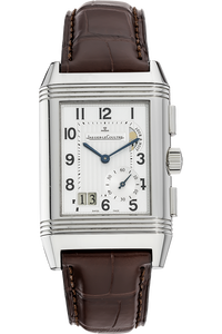 Stainless Steel Reverso Grande GMT Manual