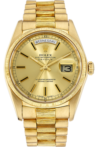 18K Yellow Gold Day-Date Automatic Circa 1978