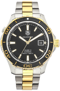 18K Yellow Gold and Stainless Steel Aquaracer 500M Calibre 5 Automatic