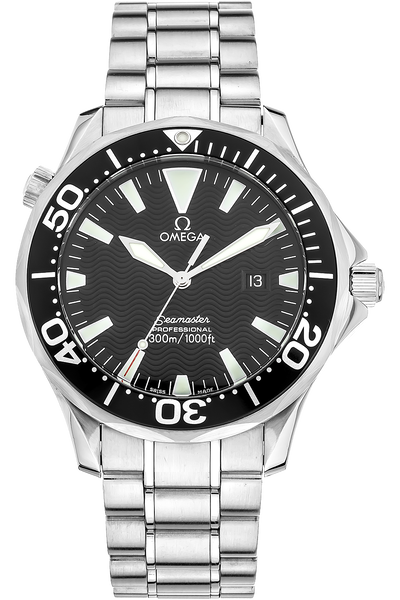 Stainless Steel Seamaster Quartz