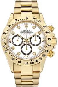 Daytona Zenith Movement Yellow Gold Automatic
