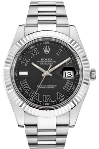 18K White Gold and Stainless Steel Datejust II Automatic
