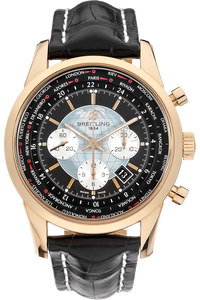 18K Rose Gold Transocean Unitime Chronograph Automatic