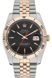 18K Rose Gold and Stainless Steel Datejust Turn-O-Graph Automatic