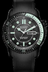 S500 Black/Green Dial