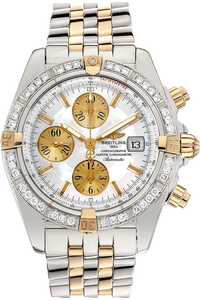 18K Yellow Gold and Stainless Steel Chronomat Evolution Automatic