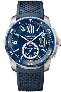 Calibre de Cartier Diver Blue Watch