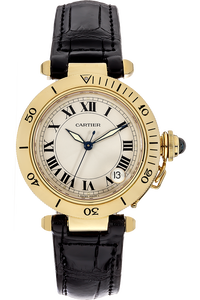 18K Yellow Gold Pasha Diver Automatic