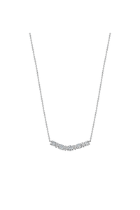 Diamond Front Necklace (1.28 ct)