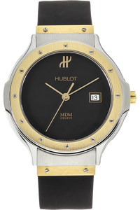 18K Yellow Gold and Stainless Steel Classic Quartz