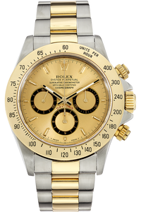Daytona Zenith Movement Yellow Gold and Stainless Steel