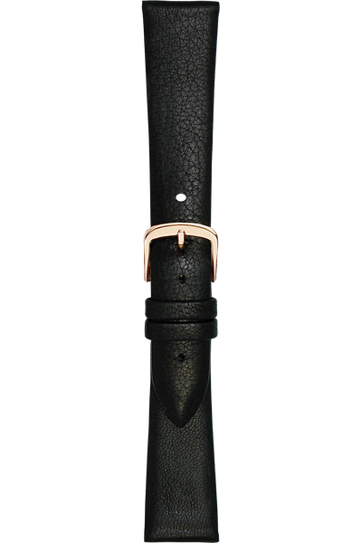 20 mm Black Calfskin Strap