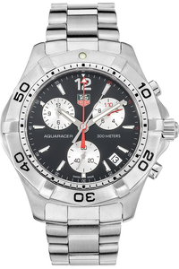 Stainless Steel Aquaracer Chronograph Quartz