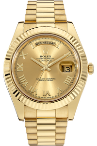 18K Yellow Gold Day-Date II Automatic