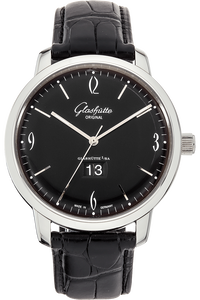 Senator Sixties Panorama Date Stainless Steel Automatic