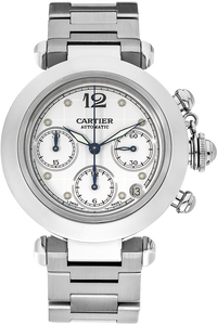 Stainless Steel Pasha C Chronograph Automatic