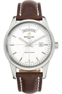 Stainless Steel Transocean Day & Date Automatic