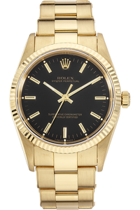 18K Yellow Gold Oyster Perpetual Automatic