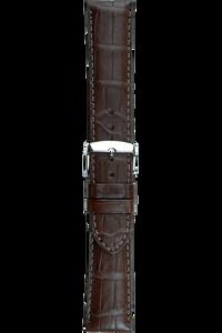 22 mm Brown Alligator Strap