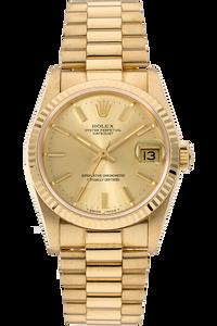 18K Yellow Gold Datejust Automatic Circa 1984