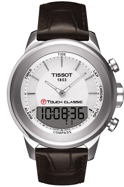 T-Touch Classic Men's Silver Quartz Touch