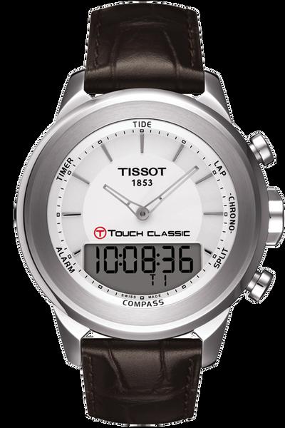 T-Touch Classic Men's Silver Quartz Touch