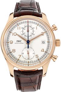 18K Rose Gold Portuguese Chronograph Classic Automatic