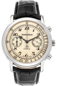 18K White Gold Jules Audemars Chronograph Automatic