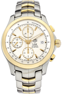 Link Chronograph Yellow Gold and Stainless Steel Automatic